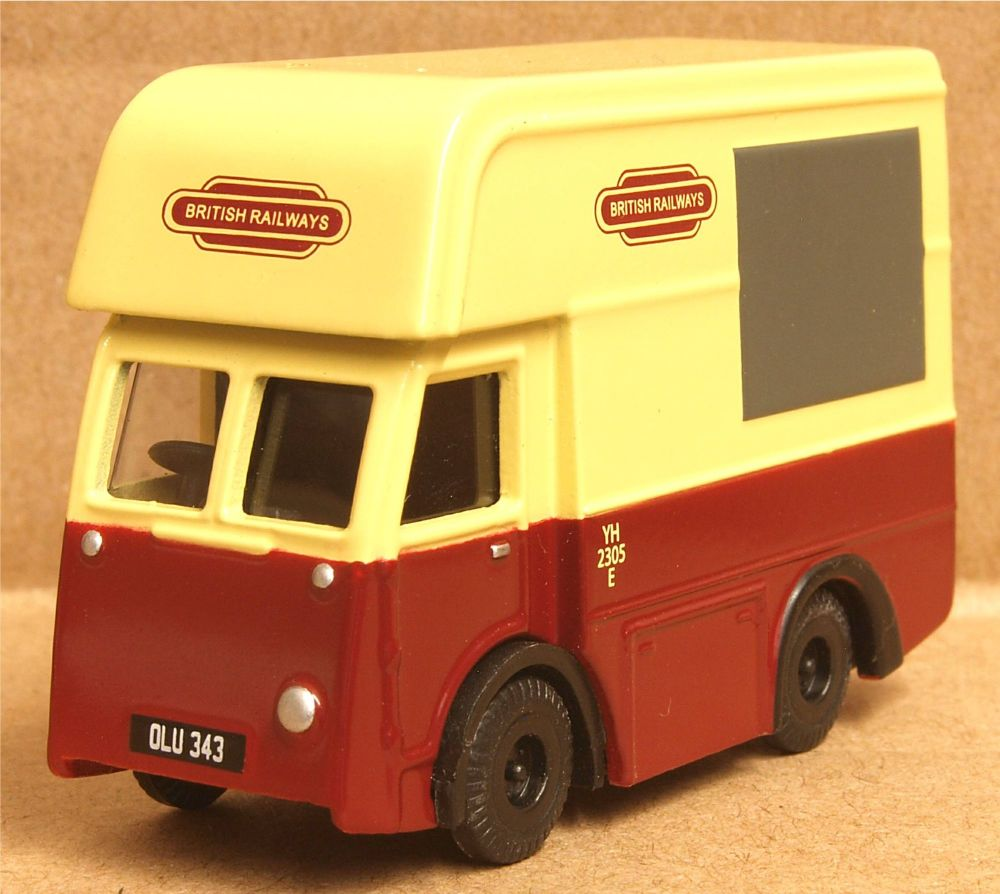"Classix EM76641  NCB Eletric-High top van ""British Railways"""