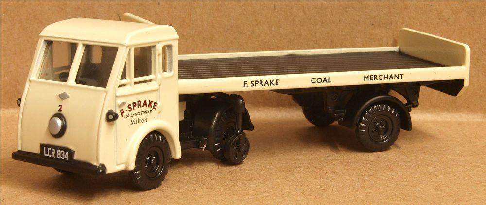 Classix EM76511  Jen-Tug - Flatbed trailer 'F Sprake Coke & Coal'