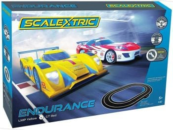 Scalextric C1399   Endurance Set LMP Yellow Vs GT Red 1:32