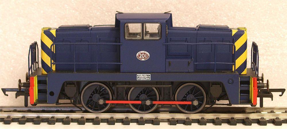 Oxford Rail GV2015  P.L.A. Janus 0 6 0 Diesel