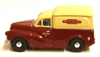 "Oxford Diecast 76MM059  Morris 1000 van ""British Railways"""