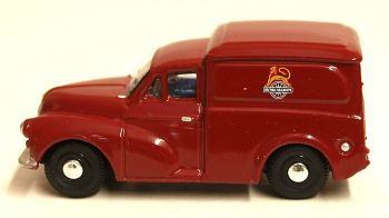 "Oxford Diecast 76MM060  Morris 1000 van ""British Railways"""