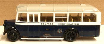 Oxford Diecast 76OWB013  Bedford OWB Belfast