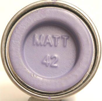 Humbrol 42  (matt) Enamel  Violett AA0042