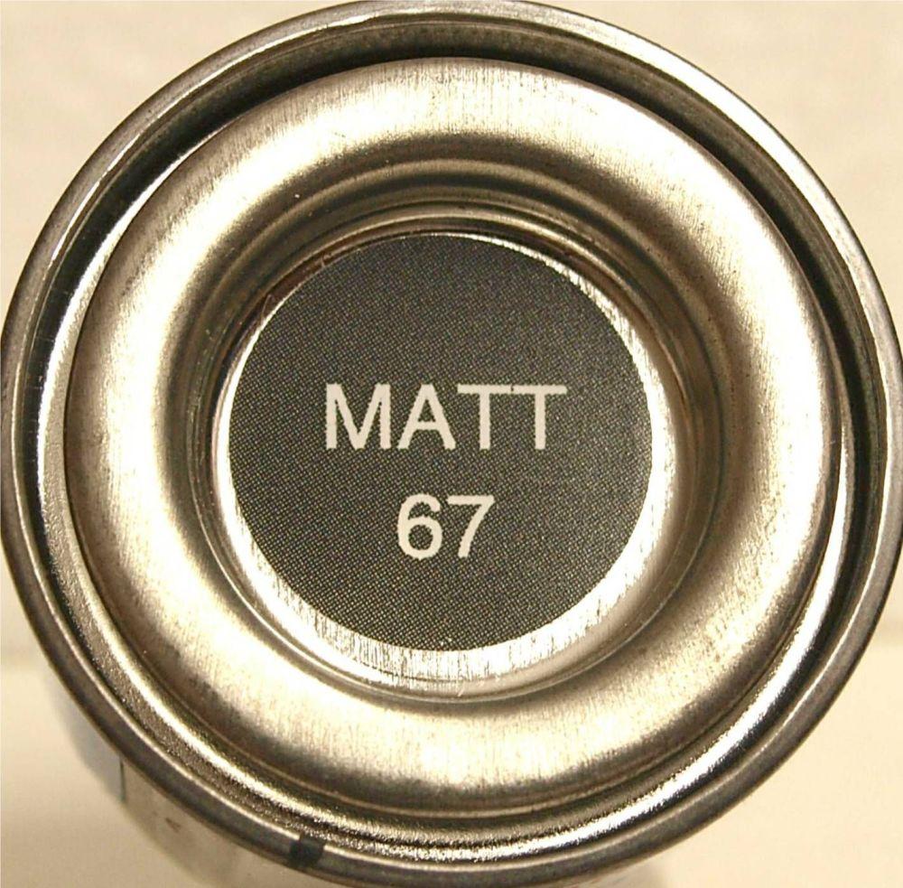 67 Humbrol (matt) Enamel   Tank Grey AA0744
