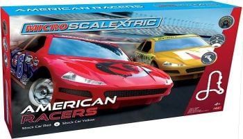 Scalextric G1098  American Racers Micro Scalextric Set