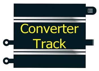 Scalextric C8222  Converter Track x 2