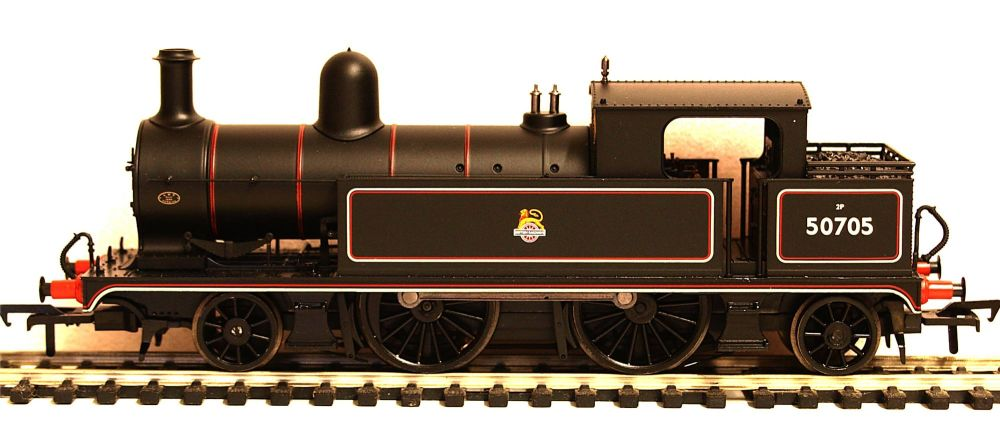 Bachmann 31169   L&YR 2-4-2 Tank 50705 BR Lined Black Early Emblem