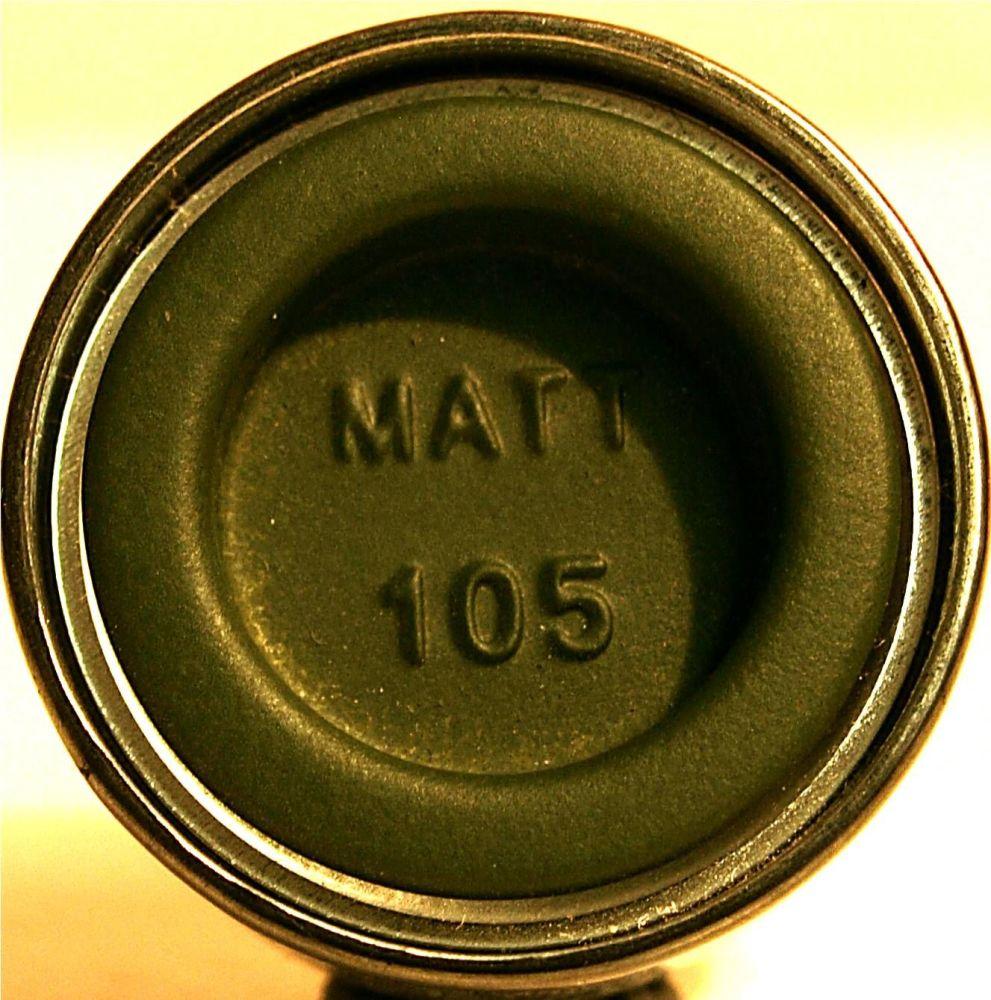 Humbrol 105  (Matt) Enamel  Marine Green AA1167