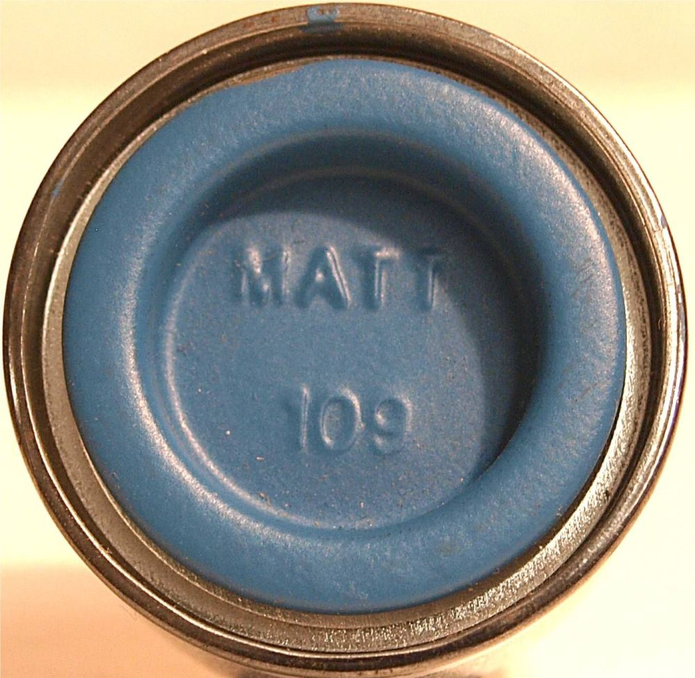 Humbrol 109  WWI Blue Matt - 14ml Enamel Paint  AA1208