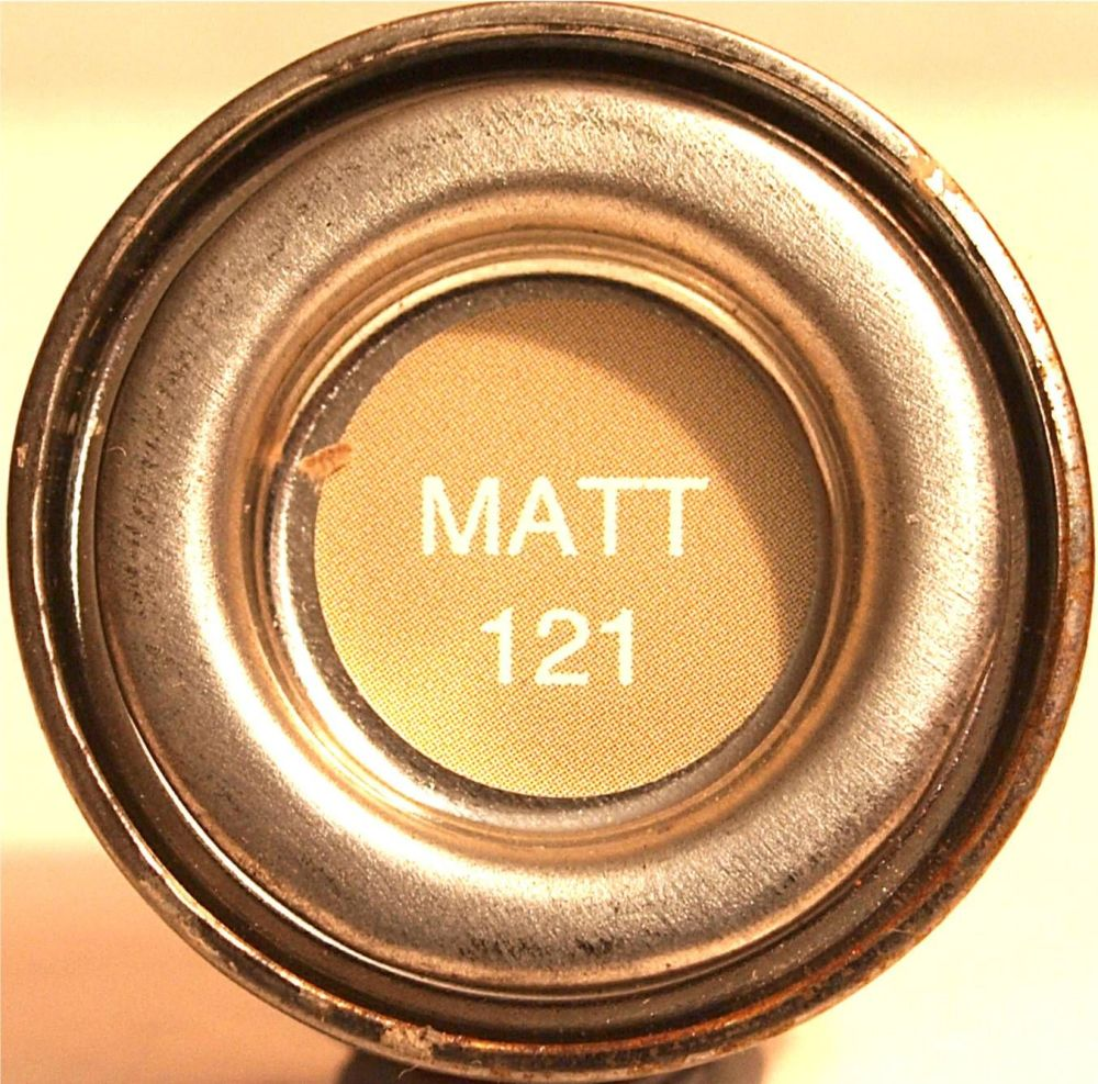 Humbrol 121  Pale Stone Matt - 14ml Enamel Paint  AA1331