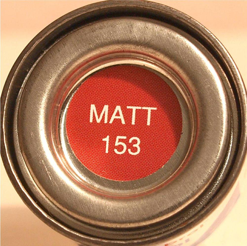 Humbrol 153  (matt) Enamel  Insignia Red AA1660