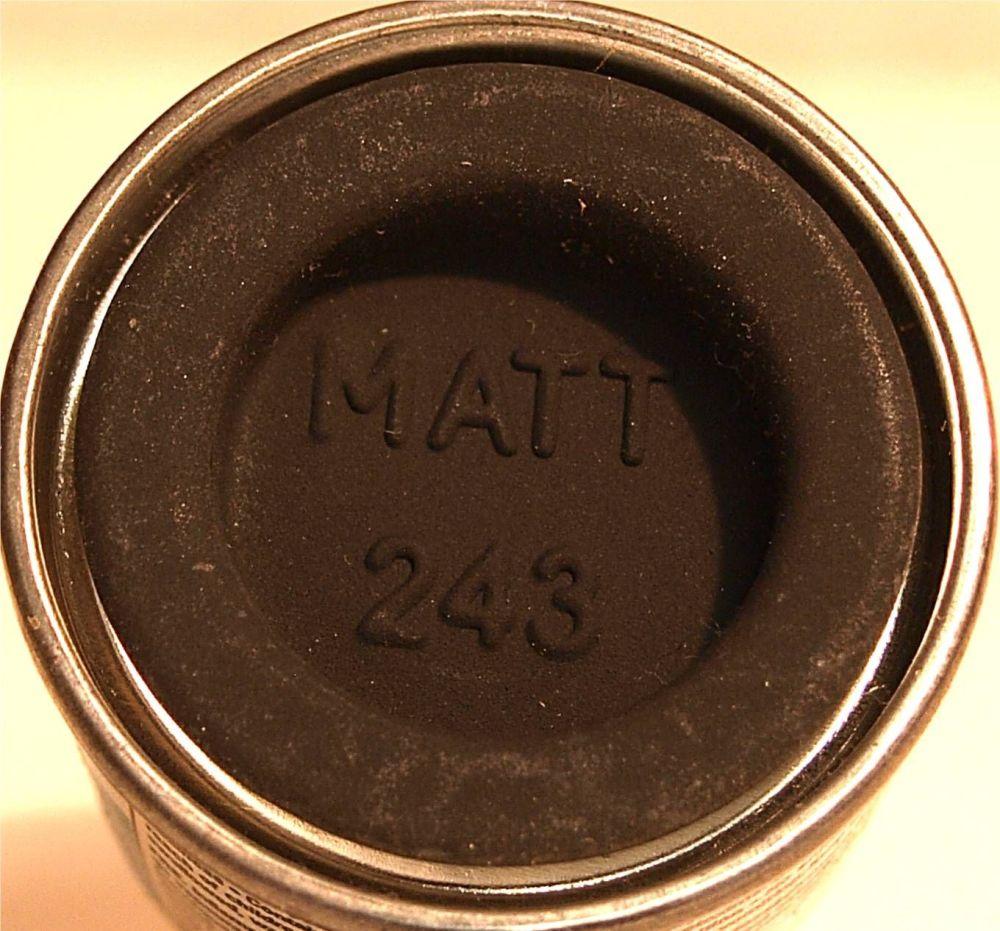 Humbrol 243 (Matt) Enamel  RLM 72 Grun  AA2243