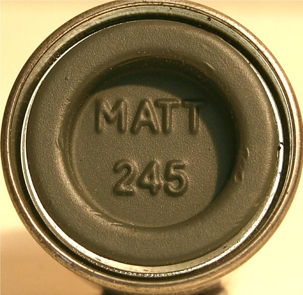 Humbrol 245 (Matt) Enamel  RLM 74 Graugrun  AA2245