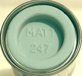 Humbrol 247 (Matt) Enamel  RLM 76 Lichtblau  AA2247