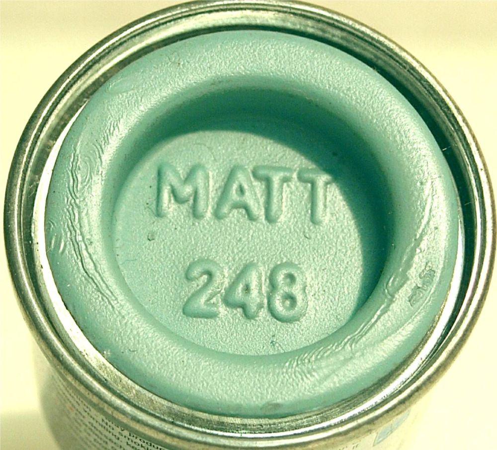 Humbrol 248 (Matt) Enamel  RLM 78 Himmelblau  AA2248