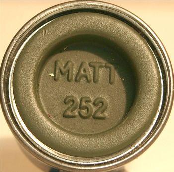 Humbrol 252 (Matt) Enamel  RLM 82 Olivgrun  AA2252
