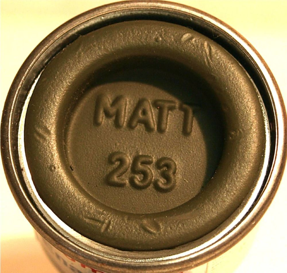 Humbrol 253 (Matt) Enamel  RLM 83 Dunkel-grun  AA2253