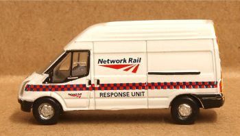 Oxford Diecast NFT022  Ford Transit MK5 Network Rail Response Unit