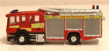 Oxford Diecast NSFE007  Scania Pump Ladder Surrey Fire & Rescue