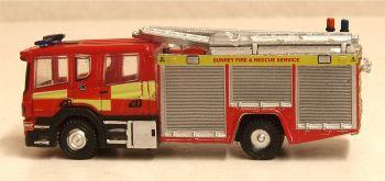 Oxford Diecast NSFE007  Scania Pump Ladder Surrey Fire & Rescue