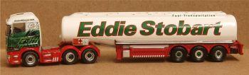 Oxford Diecast NSHL03TK  Eddie Stobart Scania Highline Tanker