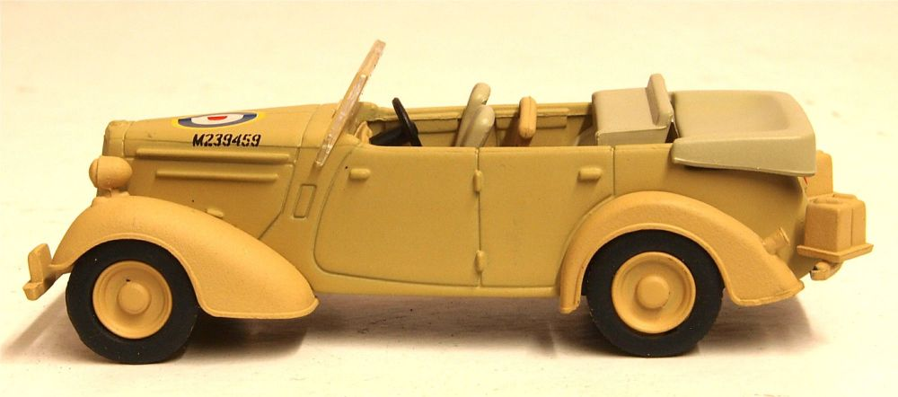 Oxford Diecast 76HST003  Humber Snipe Tourer Old Faithful - Tripoli 1943