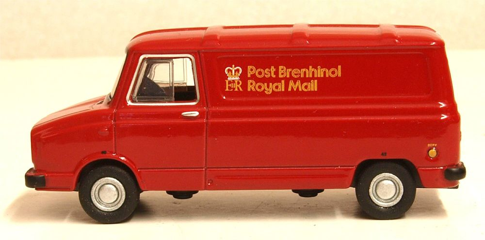 Oxford Diecast 76SHP001  Sherpa Van Royal Mail Wales