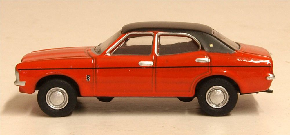 Oxford Diecast 76COR3009  Ford Cortina MKIII Sunset