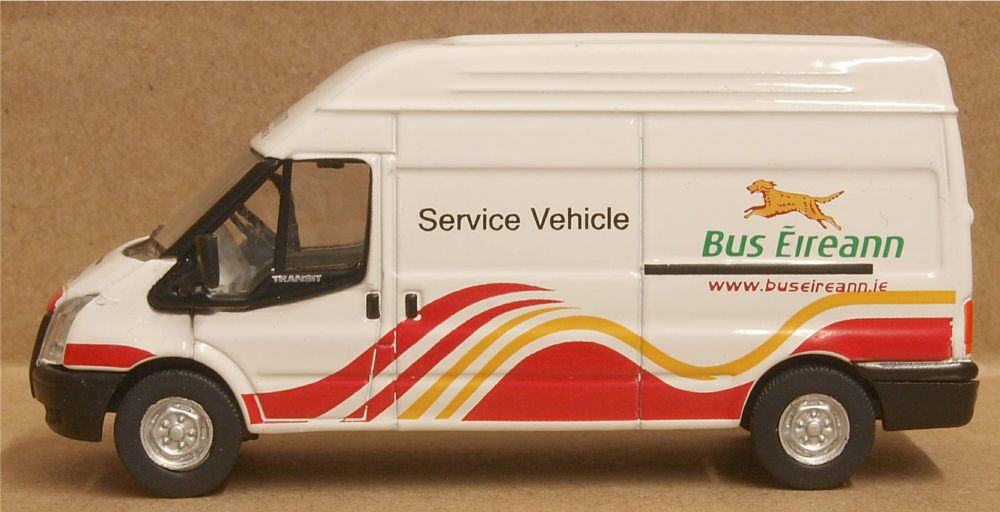 Oxford Diecast 76FT009  Ford Transit LWB High Roof Bus Eireann