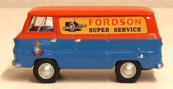 Oxford Diecast 76FDE011  Ford 400E Van  Fordson Tractors
