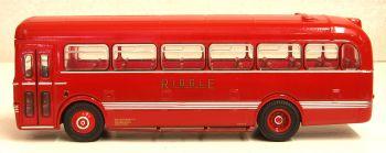 Oxford Diecast 76SB001  Leyland Tiger Cub Saro Bus  Ribble