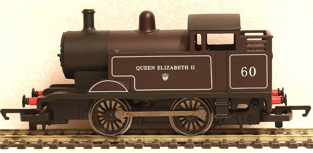 Hornby R3091-SU  Freelance 0-4-0T loco QEII 60