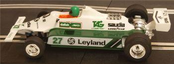 "Scalextric C138  Saudia Leyland Williams FW07B ""Carlos Reutmann"" 1:32"