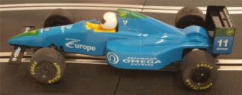 "Scalextric C430 Tyerrell 018 ""Team Omega Securicor F1 No 11 ""Jonathan Palmer"" 1:32"
