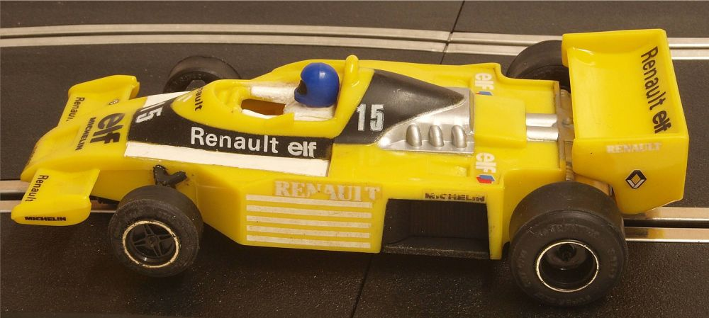 "Scalextric C134  Renault Elf Turbo RS-01 ""Jean-Pierre Jabouille"" 1:32"