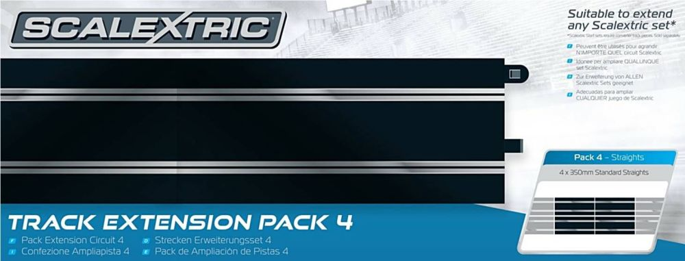 Scalextric C8526  Track Extension Pack 4