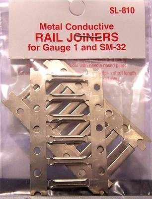 SL-810  Gauge 1 & SM32 rail joiners