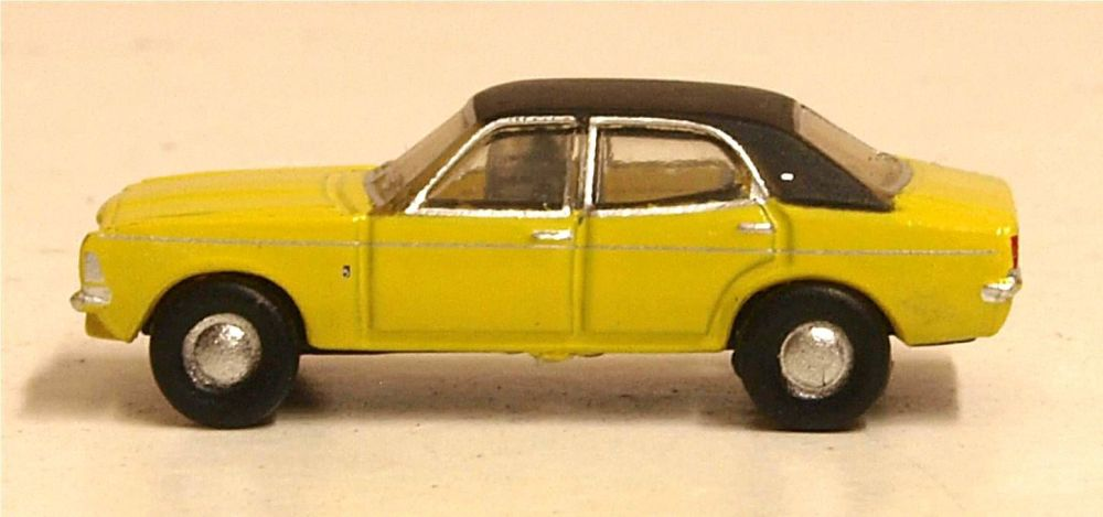 Oxford Diecast NCOR3002  Cortina MKIII Daytona Yellow