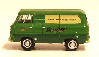 Oxford Diecast NFDE008  Ford 400E Van Southdown
