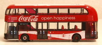 Oxford Diecast NNR004CC  New Routemaster London United/coca Cola