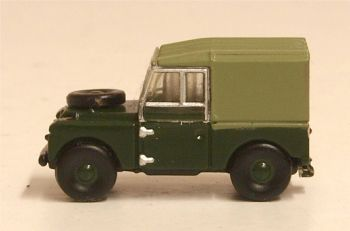 "Oxford Diecast NLAN188020  Land Rover Series I 88"" Canvas Reme"
