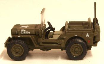 Oxford Diecast 76WMB003  Willys MB US Army Jeep