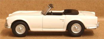 Oxford Diecast 76TR4003  Triumph TR4 New White
