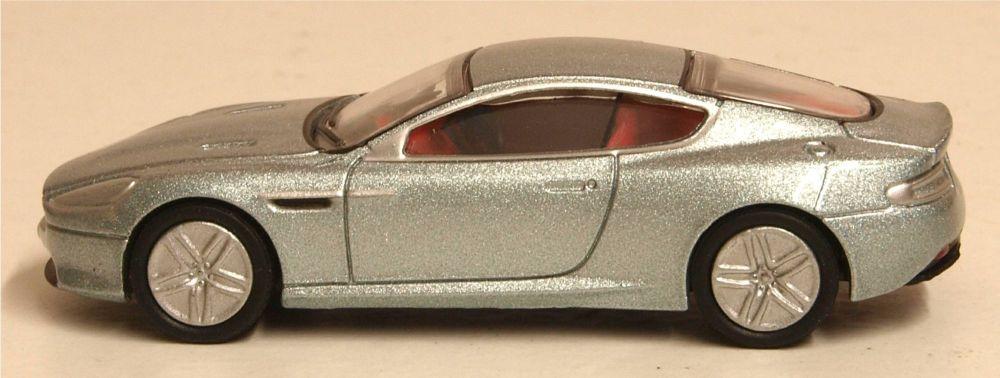 Oxford Diecast 76AMDB9001  Aston Martin DB9 Coupe Skyfall Silver