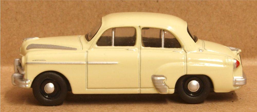 Oxford Diecast 76VWY007  Vauxhall Wyvern Regency Cream
