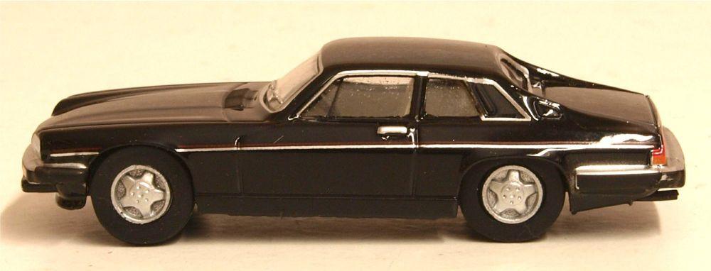 Oxford Diecast 76XJS005  Jaguar XJS Black