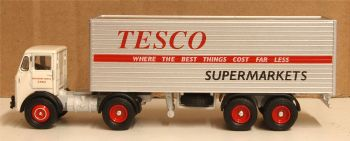 Oxford Diecast 76LO001  Leyland Beaver Box Trailer Tesco