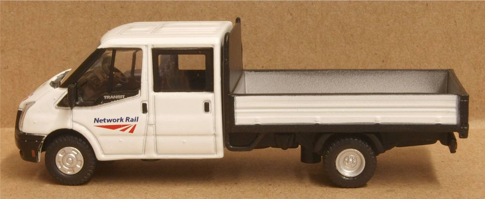Oxford Diecast 76TPU002  Ford Transit Dropside Network Rail