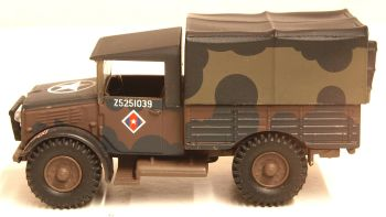 Oxford Diecast 76MWD001  British Army Mickey Mouse Bedford MWD